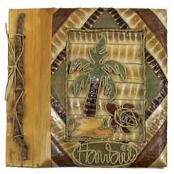 "Hawaiian Photo Album Palm Turtle 9"" x 11"""