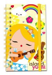 Island Yumi Notebook with Elastic Mele