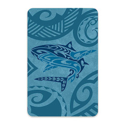 6 Decks Hawaii Playing Cards Tribal Shark