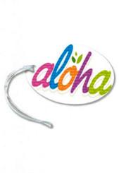 Bold Aloha Luggage Tag