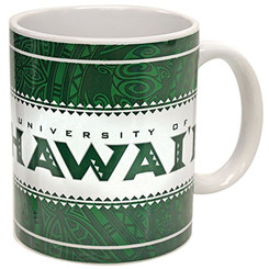 Hawaiian Coffee Mugs 4 Pack University Of Hawaii