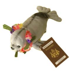 Hawaiian Collectibles Plush Umo The Hawaiian Monk Seal