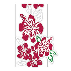 Hawaiian Candy Lei Kits 6 Pack Hibiscus Red