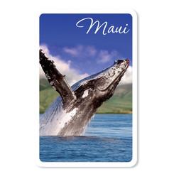 Maui Hawaii Humpback Whale Playing Cards