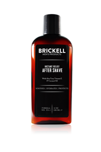 Brickell Men's Products Instant Relief Men's Aftershave (118ml)