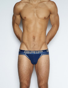 C-IN2 Underwear - Grip Mesh Sport Brief Blue (3614-450)