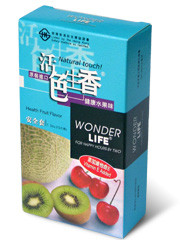 Wonder Life Health Fuit Flavor 12-Pack Condoms