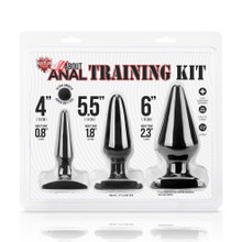 Hustler 3-Piece Anal Training Set (HT-BKIT BLK)