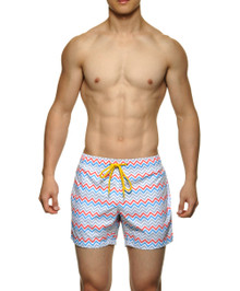 STUD Beachwear Dune Shorts Red (RW643BS03)