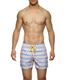 STUD Beachwear Dune Shorts Orange (RW643BS08)
