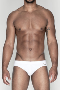 2EROS Swimwear Icon Swim Trunk White (V10-White)