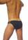 Groovin' Underwear Athletic V-Cut Mesh Brief Black