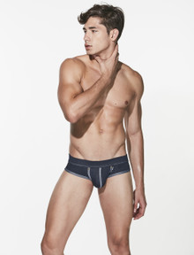 STUD Underwear Troika Denim Brief (U742LB10)
