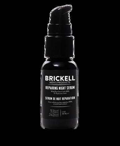 Brickell Men's Products Repairing Night Serum for Men (30ml)