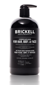 Brickell Men's Products All-in-One Wash - Evergreen (474ml)