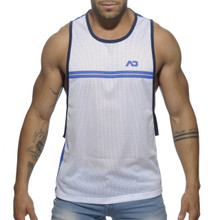 Addicted Sporty Tank Blue ( AD555-16)