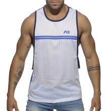 Addicted Sporty Tank Blue ( AD555-16)
