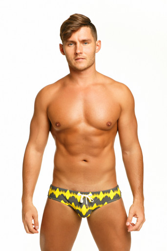 Marcuse Swimwear Magnetic Swimbrief Yellow (Marcuse-Magnetic-Swimwear-Yellow)