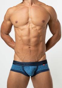 TOOT Underwear Jacquard Monogram Super Nano Trunk Navy (SN22H331-Navy)