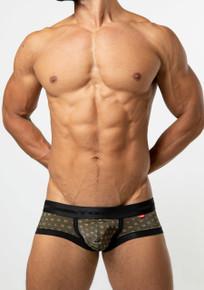 TOOT Underwear Jacquard Monogram Super Nano Trunk Black (SN22H331-Black)