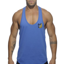 Addicted Contrast Tank Top Royal Blue AD493 (AD493-09)