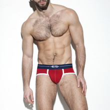 ES Collection Underwear UN261 7 Days Brief Red (UN261-06)