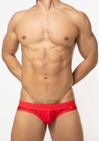 TOOT Underwear Quatro Mesh Bikini Brief Red