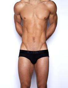 C-IN2 Underwear Core Lo No Show Profile Brief Black