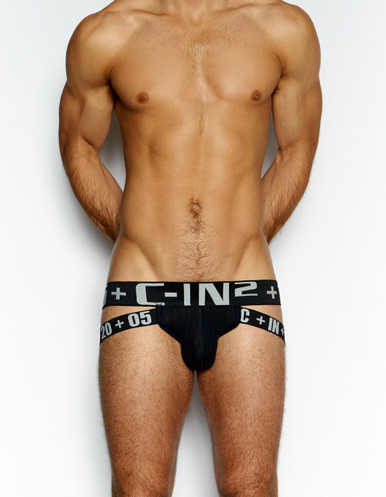 C-IN2 Underwear - H+A+R+D Jockstrap Black