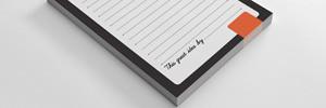 Printed Desk Pads & Memo Pads