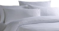 Cotton Rich Satin Stripe Duvet Covers