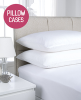 180TC Easy Iron Percale Pillowcases