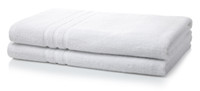 600GSM Luxury Royal Egyptian Double Yarn Bath Sheets - White