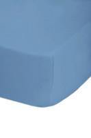 68 Pick Polycotton Fitted Sheet - Light Blue
