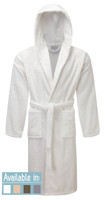 Egyptian Collection Luxury Towelling - Hooded Dressing Gown