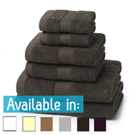 6 Piece 700GSM Towel Bale - 2 Face Cloths, 2 Hand Towels, 2 Bath Towels