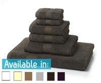 6 Piece 700GSM Towel Bale - 2 Face Cloths, 2 Hand Towels, 1 Bath Towel, 1 Bath Sheet