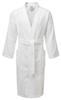 Value Range Terry Towelling Kimono Bathrobe - 100% Cotton