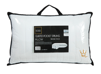 Quilted Pocket Sprung Pillow