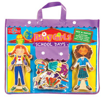 Daisy Girls School Wooden Magnetic Dress-Up Dolls | T.S. Shure