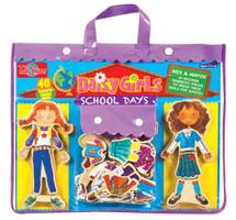 Daisy Girls School Wooden Magnetic Dress-Up Dolls | T.S. Shure