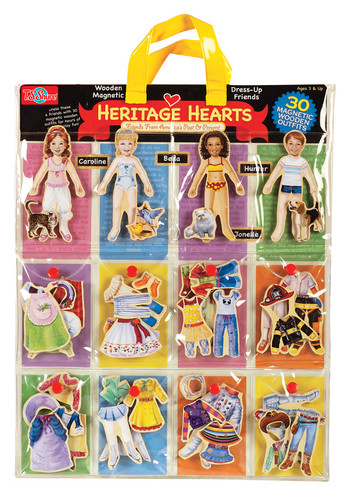 Heritage HeartsÇ®¶Ç_¶_Ç®¶_Ç®¶Ç®¶¾Ç__Ç®¶œÇ®¶Ç_¶_Ç__Ç®¶½ Wooden Magnetic Dress-Up Dolls | T.S. Shure