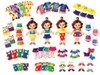 Teeny Tiny Quadruplets Wooden Magnetic Dress-Up Dolls | T.S. Shure