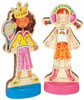 Daisy Girls Deluxe Wooden Magnetic Dress-Up Dolls | T.S. Shure