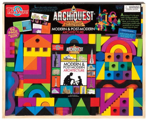 ArchiQuest Modern & Post-Modern Architecture Building Blocks | T.S. Shure