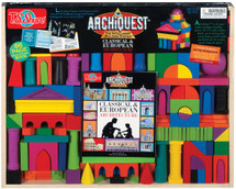 ArchiQuest Classical European Architecture Wooden Blocks | T.S. Shure