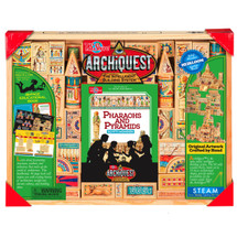 ArchiQuest Pharaohs and Pyramids: Egypt's Wonders Wooden Blocks | T.S. Shure