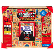 ArchiQuest Pharaohs, Kings, Czars, Dragons, and Arches: Deluxe World Fusion Wooden Blocks | T.S. Shure