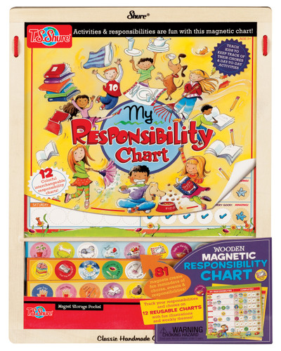 My Responsibility Wooden Magnetic Calendar | T.S. Shure