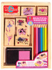 Beautiful Ballerinas Wooden Stamp Set | T.S. Shure